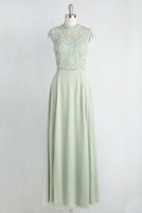 New Arrival Prom Dresses,sparkle Prom Dresses,Sweet 16 dresses,sage Graduation Gowns, Chiffon prom Dresses