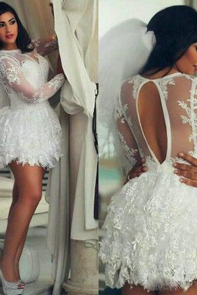 Homecoming Dresses Short Prom Dresses,new white Homecoming Dresses,Lace Homecoming Dress,Pretty Party Dresses,Cute fashions Dresses