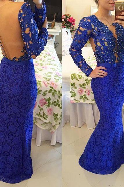 2017 New Arrival Prom Dress,Long Prom Dress,Prom Gowns,Prom Evening Dress,mermaid Evening Dress,Formal Dress,Party Dress,Prom Dress