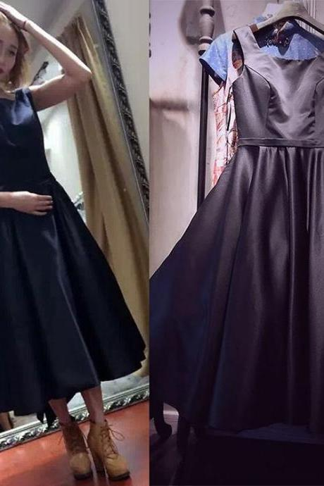 Simple Prom Dress,2017 New Fashion Women Party Dress,Prom Dress,Prom Dress,Formal Dress,Black Prom Dress,Simple Prom Party Dress