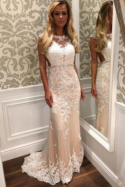 Prom Dress,Sexy Prom Dress,Mermaid Prom Dress,Lace Prom Dress,Champagne Prom Dress,Fashion Prom Dress,Luxury Prom Dress,Long Prom Dresses,Party Dress