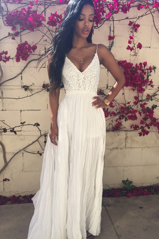 Prom Dress,Sexy Prom Dress,white Prom Dress,Lace Prom Dress,Fashion Prom Dress,Backless Prom Dress,Long Prom Dresses,Party Dress