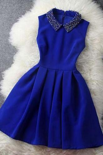 Homecoming dress,Lace Prom Dress, Graduation dress, Party Dress,Royal Blue Homecoming dresses,off the shoulder prom gowns