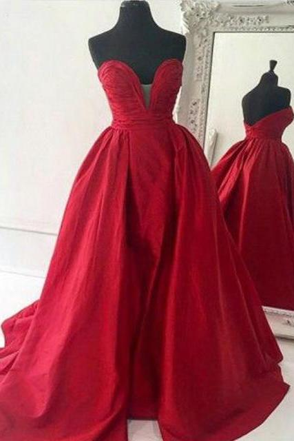 New Arrival Ball Gown Prom Dresses,Floor-Length Prom Dresses,Evening Dresses,Sweet 16 dresses,Graduation Gowns,Red prom Dresses
