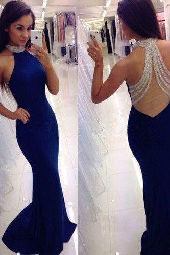 Prom Dresses,mermaid Prom Dresses, 2017 Prom Dresses,Prom Dresses,elegant Evening Dress,Formal Prom Dress,Long Evening Dress