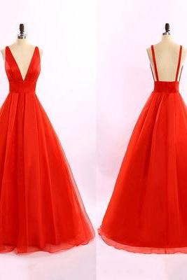 Long prom dresses,backless evening gowns,red prom gowns,open backs prom gowns,2017 new style fashion prom gowns