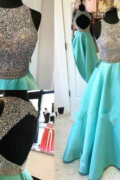 Long Prom Dress,Prom Dress,Blue Evening Dress,Formal Dress,Ball Gown prom Gowns