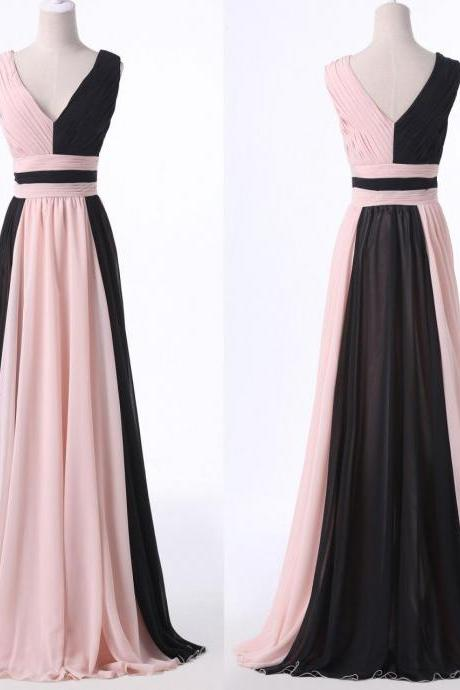 Simple Prom Dress,Long Prom Dresses,Formal Evening Dress,Women Dress,modest evening gowns,chiffon prom dresses