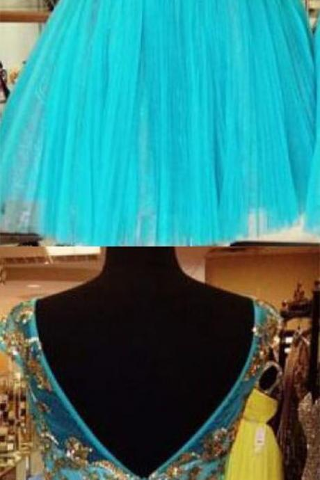Blue Women Dresses,Homecoming Dresses, Cute Dresses,Party Dress,Short Prom Dress