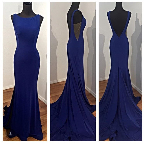 2017 Prom Dresses,Prom Dresses,Mermaid Prom Dresses,Sexy Prom Gowns,Prom Dress,Navy Blue Evening Dress,Formal Dress