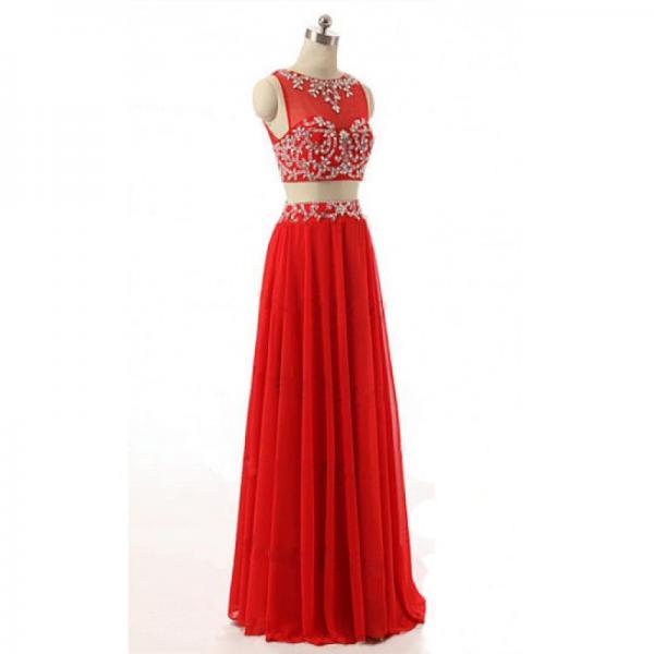 Long prom dresses,red evening gowns, red prom gowns,ball gown prom gowns,2017 new style fashion prom gowns